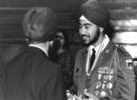 Ravi Singh, first Sikh American to Graduate from U.S.Military Academy with legislation signed by President Reagan.  Graduated in 1987, Second Lieutenant.