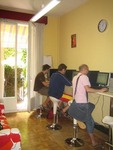 School internet cafe, Camino Barcelona