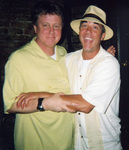 Harry Anderson and Katrina author Robert Smallwood Clown on Harry's Closing Nite