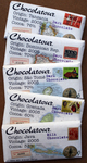 Chocolove's Chocolatour chocolate bars