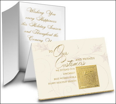 Custom clothes business christmas card greetings business christmas card greetings reheart Image collections