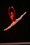 """Rómel Frómeta en una escena del ballet """"El Lago de los Cisnes"""""""