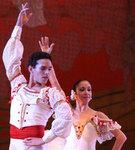 """Rómel Frómeta en una escena del ballet """"Quijote"""""""