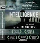 Intelligence - award poster