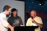Cherry/Ledger on podium