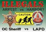 Arrest Illegals?  Top Cops & Officials Differ: Watch 8 minute video