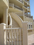 Elegant Cast Stone Balustrade and Staircase