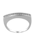 Diamonds in Micro Pave Ring