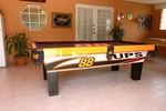 Dale Jarrett Autographed eXtreme Custom Pool Table