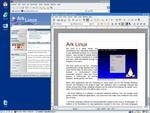 The Ark Linux desktop
