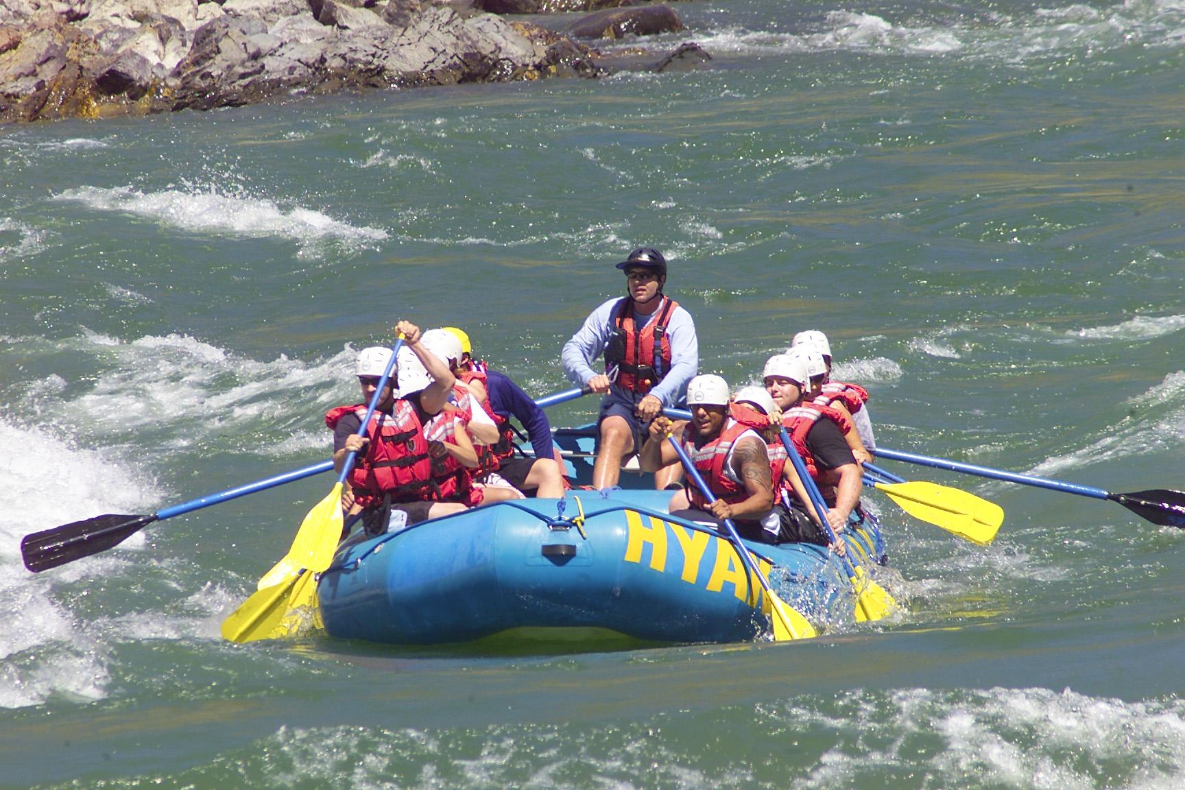 BC River Rafting