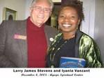 Larry w/author Iyanla Vanzant