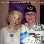 Larry - w/author Daphne Rose Kingma