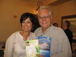 Larry - w/author Debbie Ford