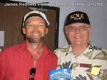 Larry w/author and movie producer, James Redfield (www.celestinevision.com)