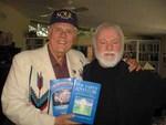 Larry w/author and trance medium extraordinaire, Dr. Ron Scolastico