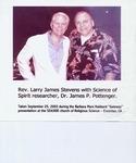 SoulMan Larry w/human potential pioneer, Dr. James P. Pottenger: www.thescienceofspirit.com