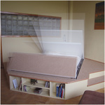 Spacia Bed Open and Closed