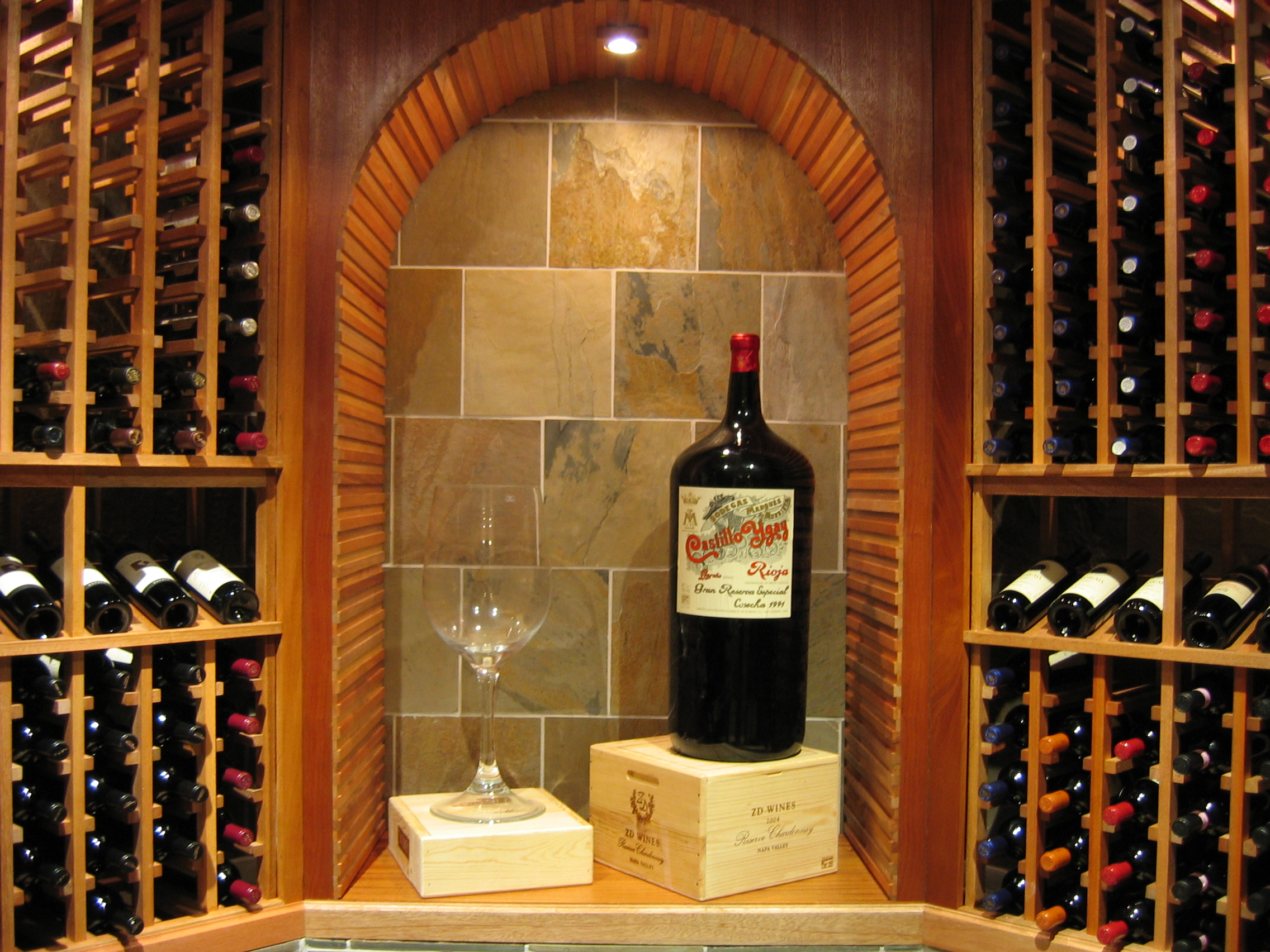 And kessick fine home products team to for In home wine cellars