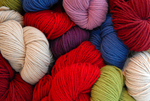 """""""O~Wool Classic"""" colorful skeins"""