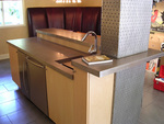 Concrete countertops are great additions to kitchens and baths.