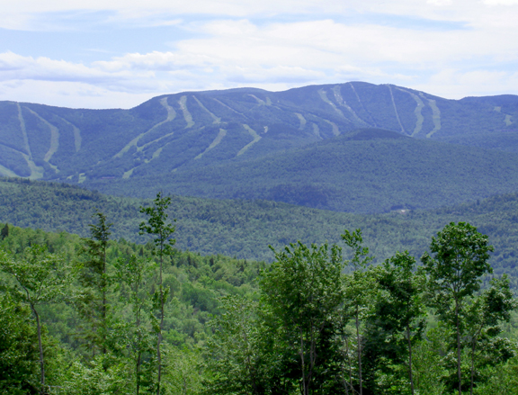 Panoramic Views of Sunday River Ski Resort