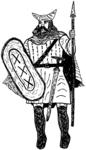 Ancient Celtic Warrior
