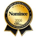 Bodybuilding.com Supplement Award Nominee