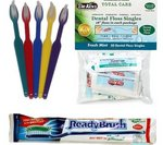 A number of toothpaste alternatives exist which comply with the new airline security regulations. Many are available at DentaKit.com