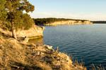 Limestone Cliffs - Possum Kingdom Lake
