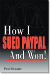 """""""How I Sued PayPal and Won"""" book cover"""