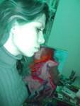 Iraqi artist Vian Sora in her studio
