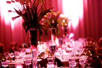 PF&ED Event designed with French Tulips and Ambient Lighting