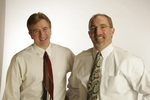 Art Blanchet and Bill Quigley during recent photo-shoot