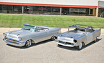 1957 Chevy Convertible Steel Body and Turn-Key Car