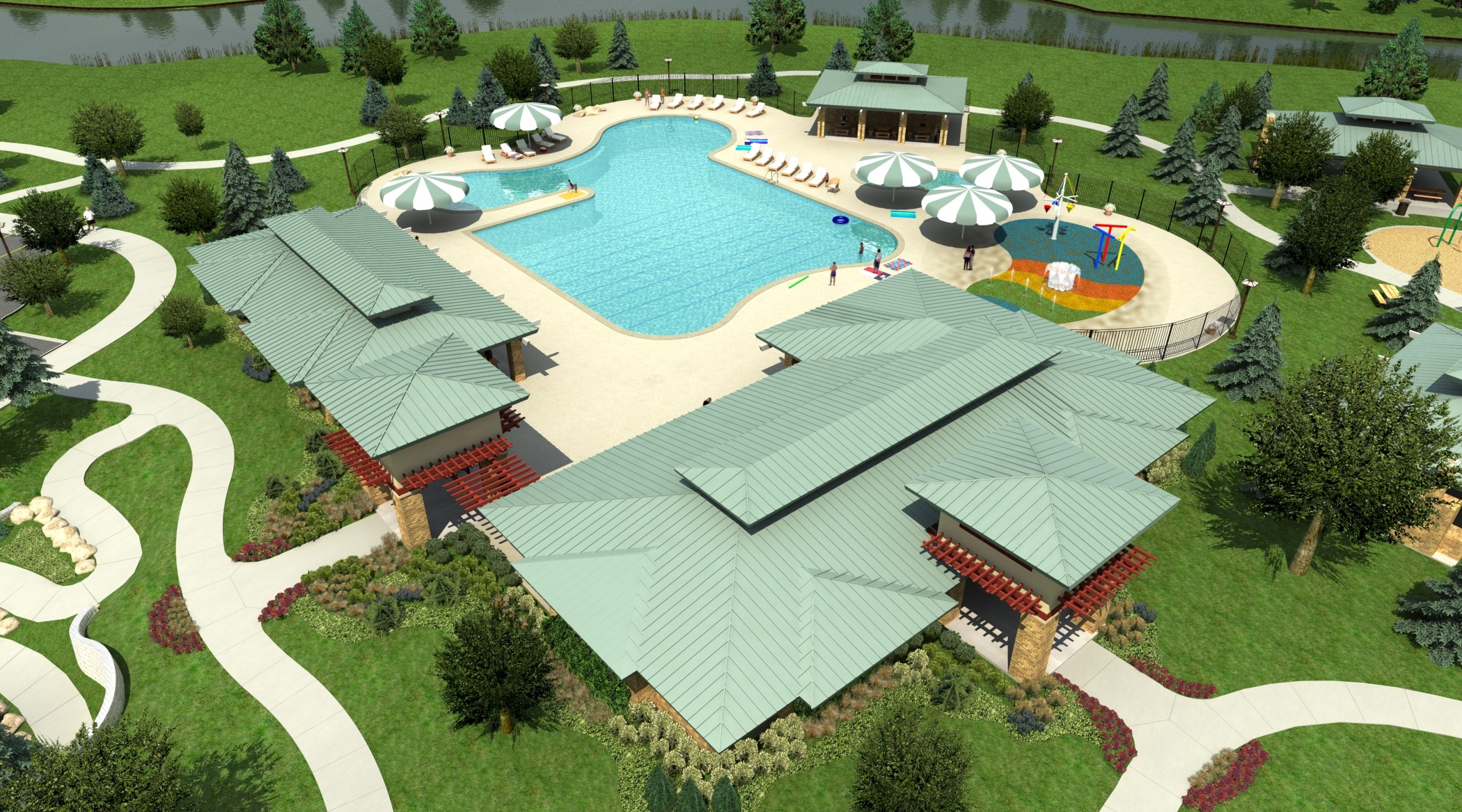 Southern Trails Mixes Small Neighborhood Feel With Big Community Amenities