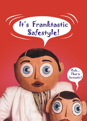 Cult Hero Frank Sidebottom Heads Up Safestyle S New North