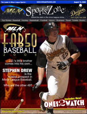 Stephen Drew Named No. 1 in Minor League News MLN FAB50 ...