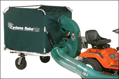 Cyclone Rake For Sale >> Two New Cyclone Rake Lawn Vacuum Models Are Announced By Woodland