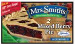 Mrs. Smith's - Mixed Berry Pie Slices with Splenda