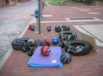 Some workout toys