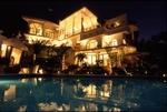 Casa Valerie at night