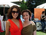 Lisa Edelstein and Hedy Woodrow