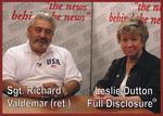 Sgt. Richard Valdemar (ret) & Leslie Dutton on the Full Disclosure Network (tm)