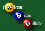 eXtreme Custom Billiards Logo