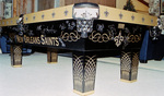 New Orleans Saints Themed Pool Table
