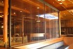 Bluworld's Rain Curtain Water Feature - Pearl Steakhouse, Orlando, Florida