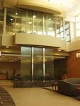 Bluworld's Water Wall Feature - Sentara Heart Hospital, Norfolk, Virginia