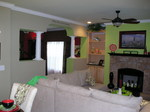 Living & Dining Room of Award-Winning HandCrafted Homes Windsor Model