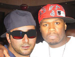 Chad Love and 50 Cent